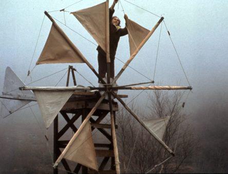 Cretan windturbine in the late 1970s