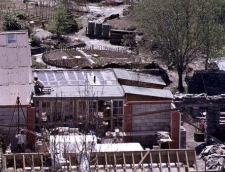 Vistor's centre in the 1970s