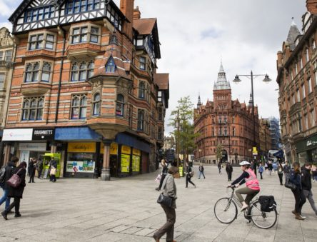 Sustainable built environment in Nottingham city centre