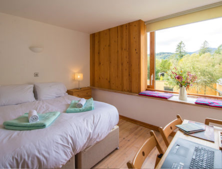 Accommodation in the Wales Institute for Sustainable Education (WISE)