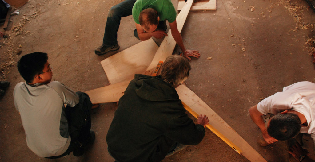 Building a wind turbine