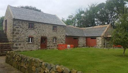 Damp house renovation