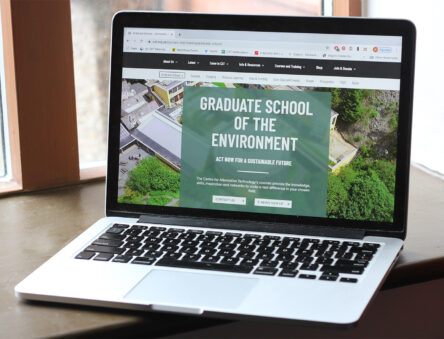 graduate school web pages