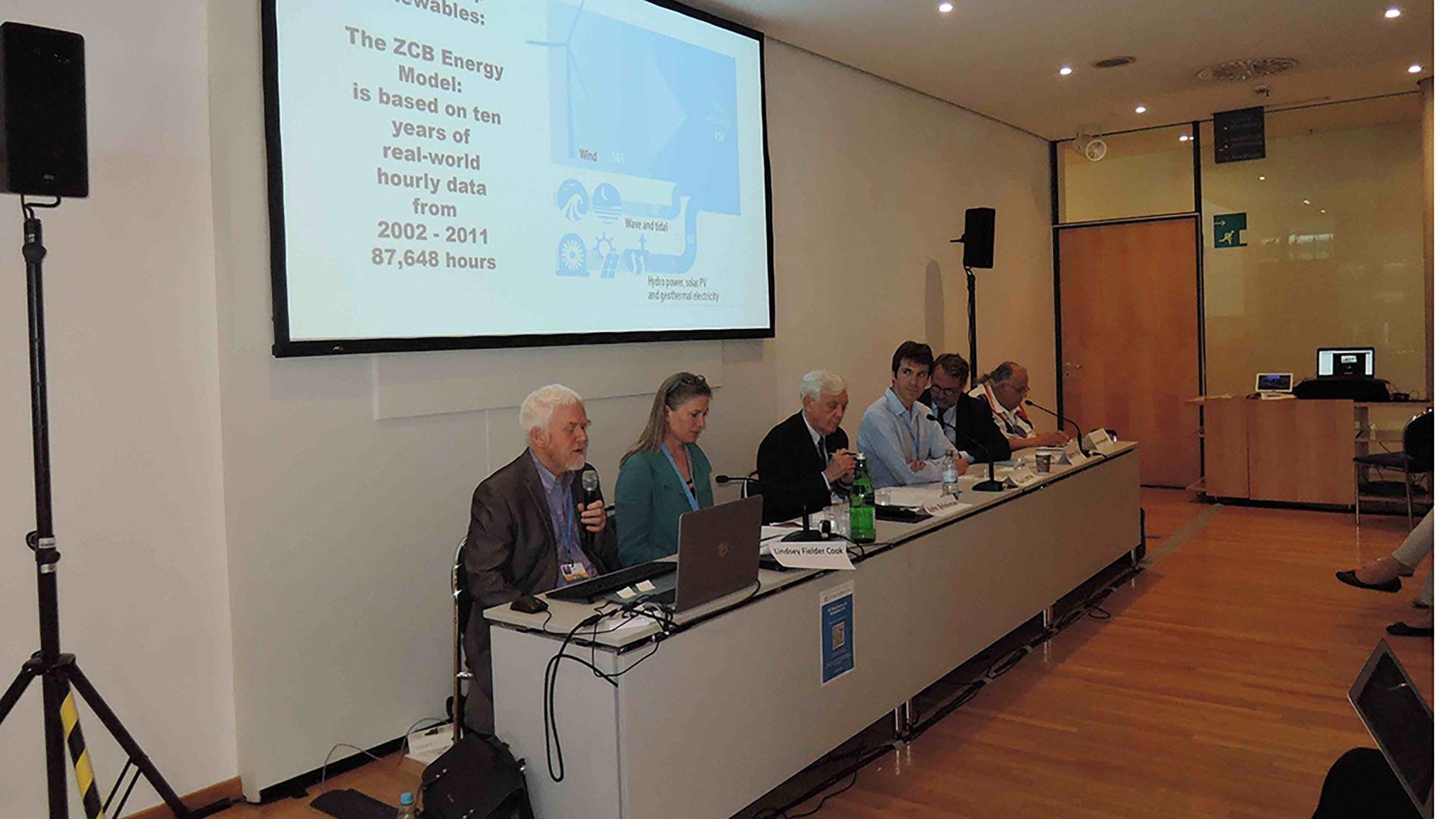 Paul Allen at UN climate talks in Bonn, 2015