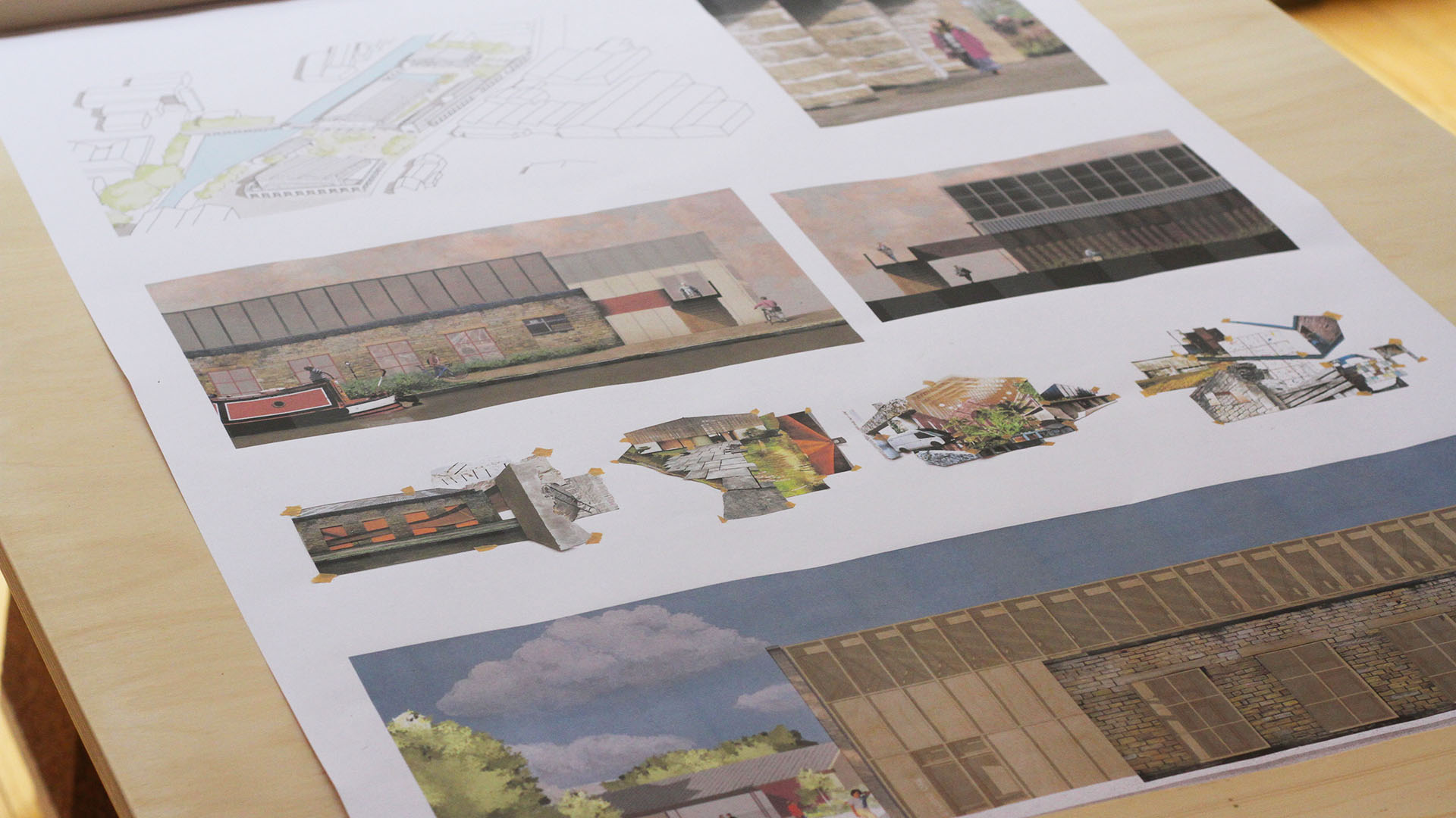 Designs by CAT architecture student